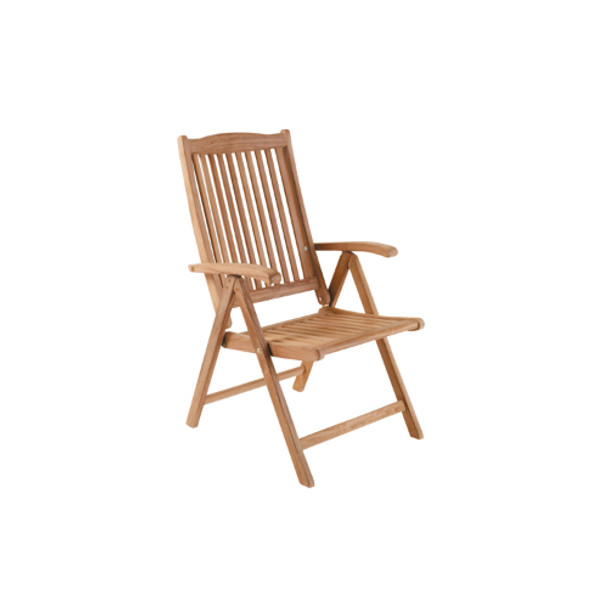Solid Teak Veronica Position Chair