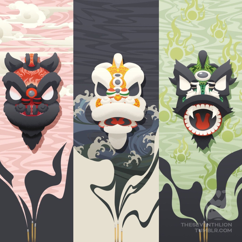 3 Kingdoms Prints Series
