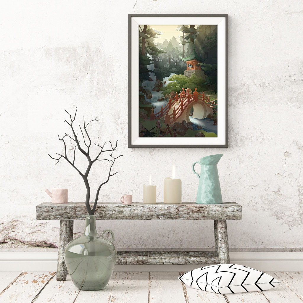 Bridge (Gallery Print)