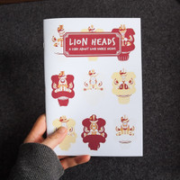 Zine: Lion Heads