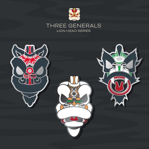 3 Kingdoms Pins
