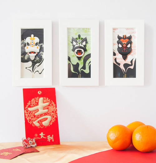 3 Kingdoms Prints Series (Gallery Prints)