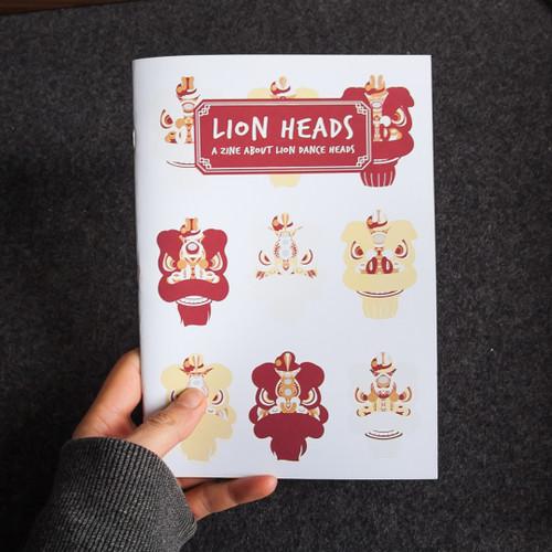 Zine: Lion Heads