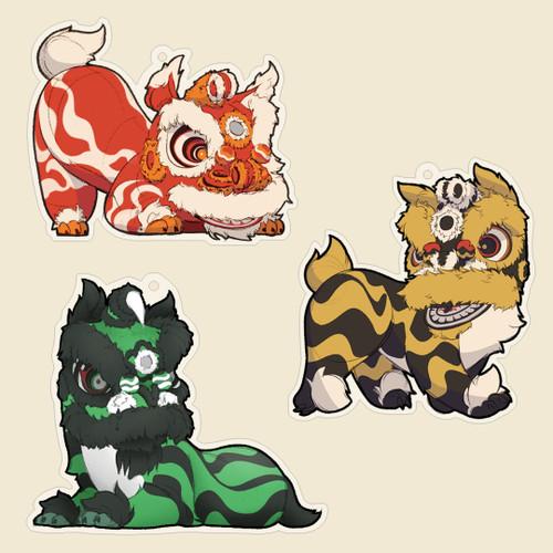 Lion Charms