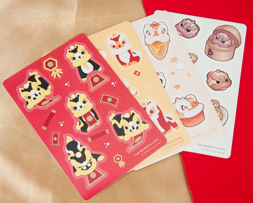 A6 Stickers Sheets (Pack of 6)