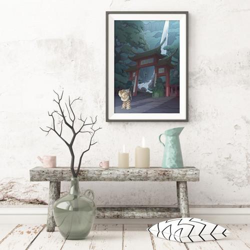 Water Gate (Gallery Print)
