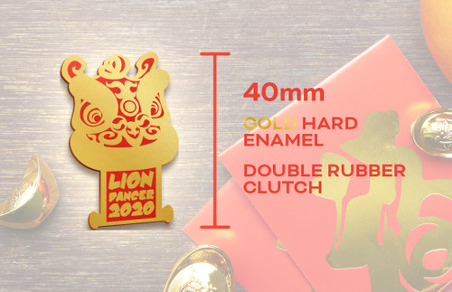CNY 2020 Edition Pin