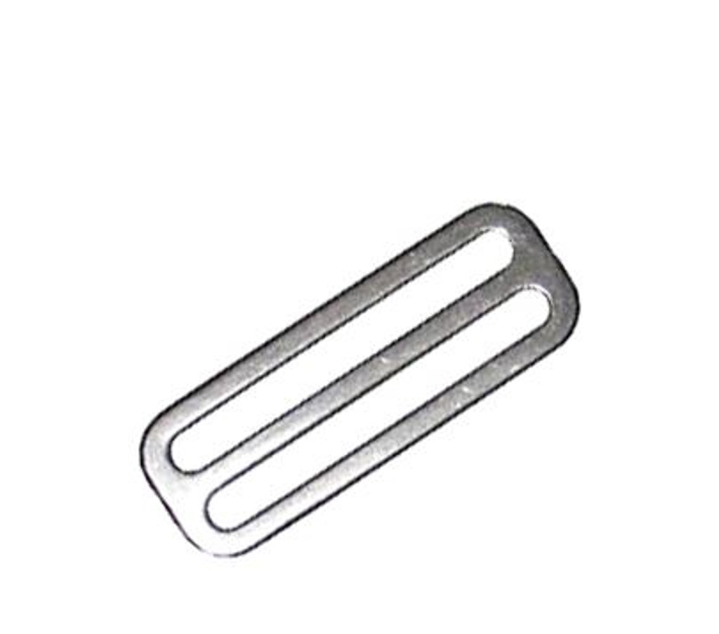 Stainless Steel Tri-glide for harnesses and weightbelts