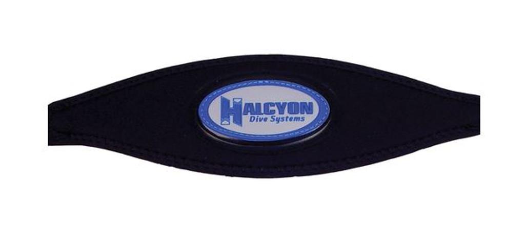 Halcyon logo mask Slap-Strap