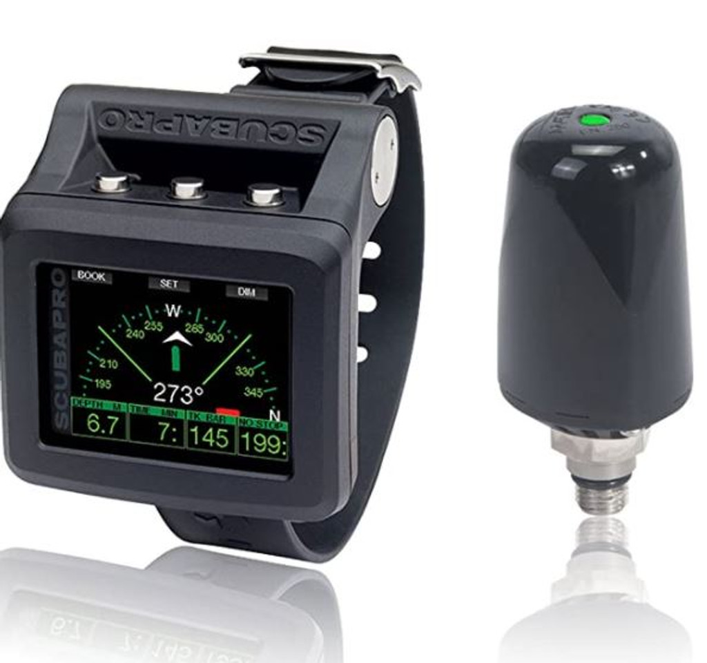 Scubapro G2 Wrist Dive Computer w/Transmitter and HRM