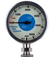 """Halcyon Master SPG - 2.5"""" Pressure Gauge"""