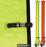 Diver's Alert Marker 3.3' oral inflate only