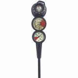 SCUBAPRO metal pressure gauge, depth gauge and FS-2 compass