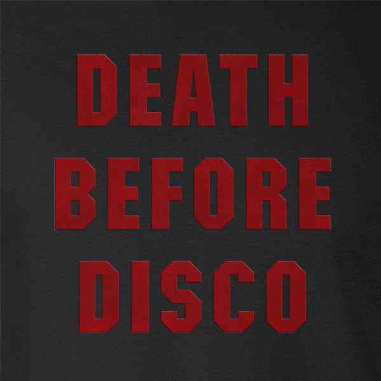 Death Before Disco Retro Halloween Costume Pop Threads