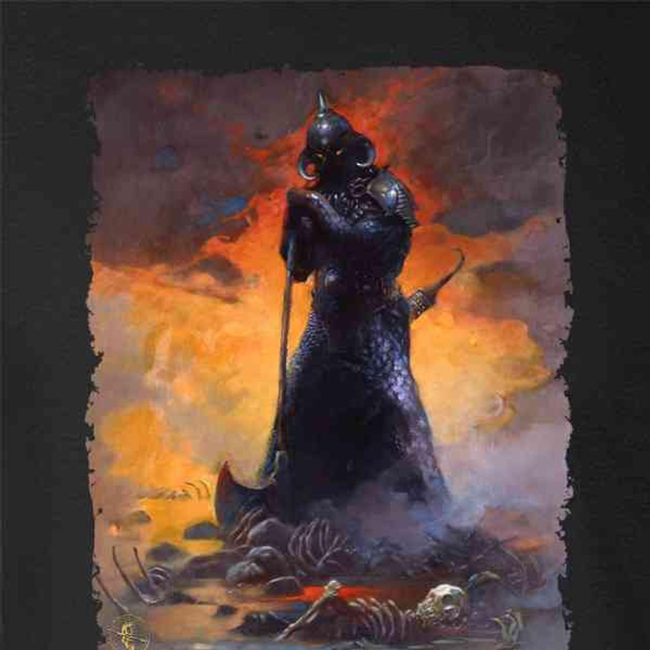 Death Dealer by Frank Frazetta Art Horror Mens Tank Top