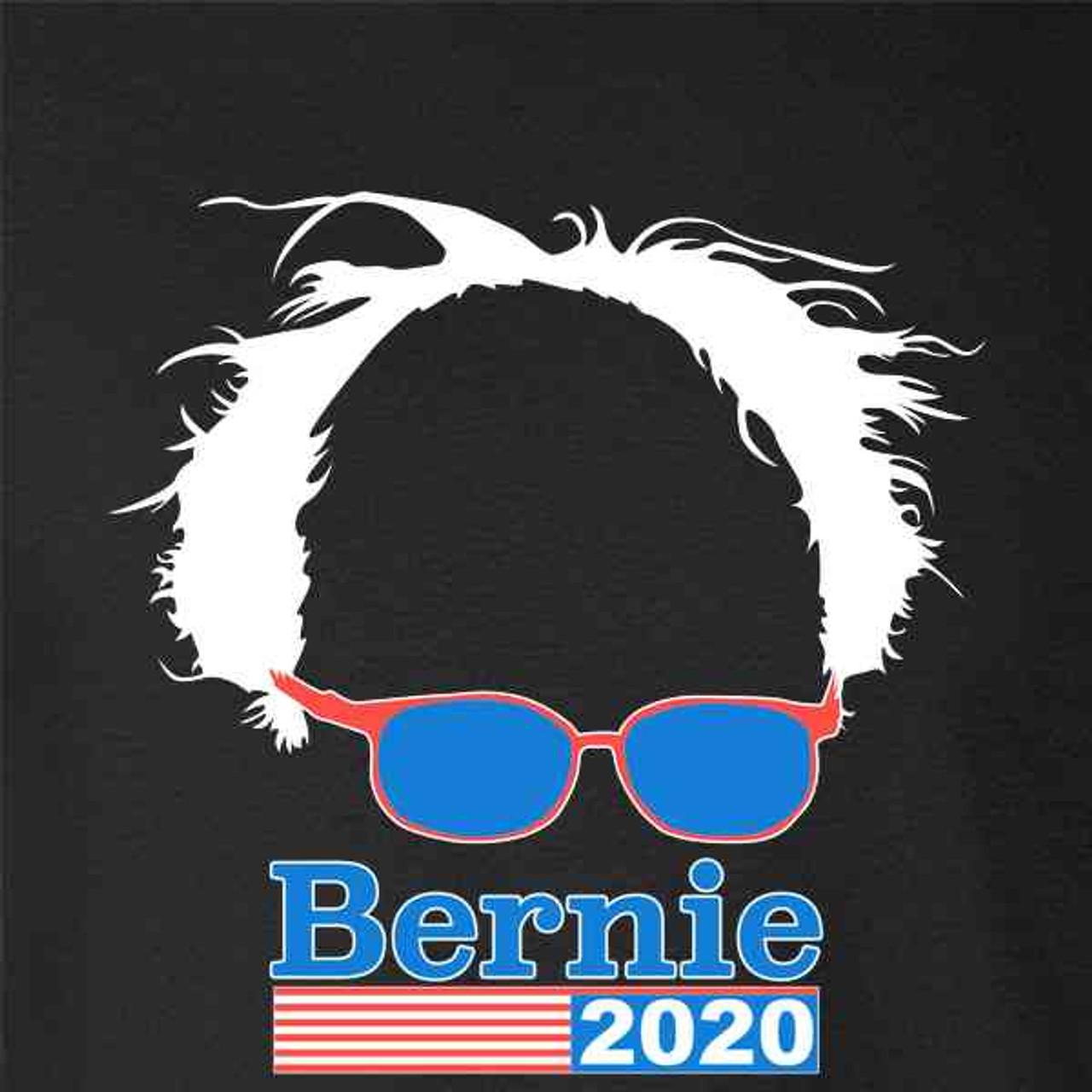 d14c11ae4ee627 Bernie Sanders 2020 Hair and Glasses Campaign - Pop Threads