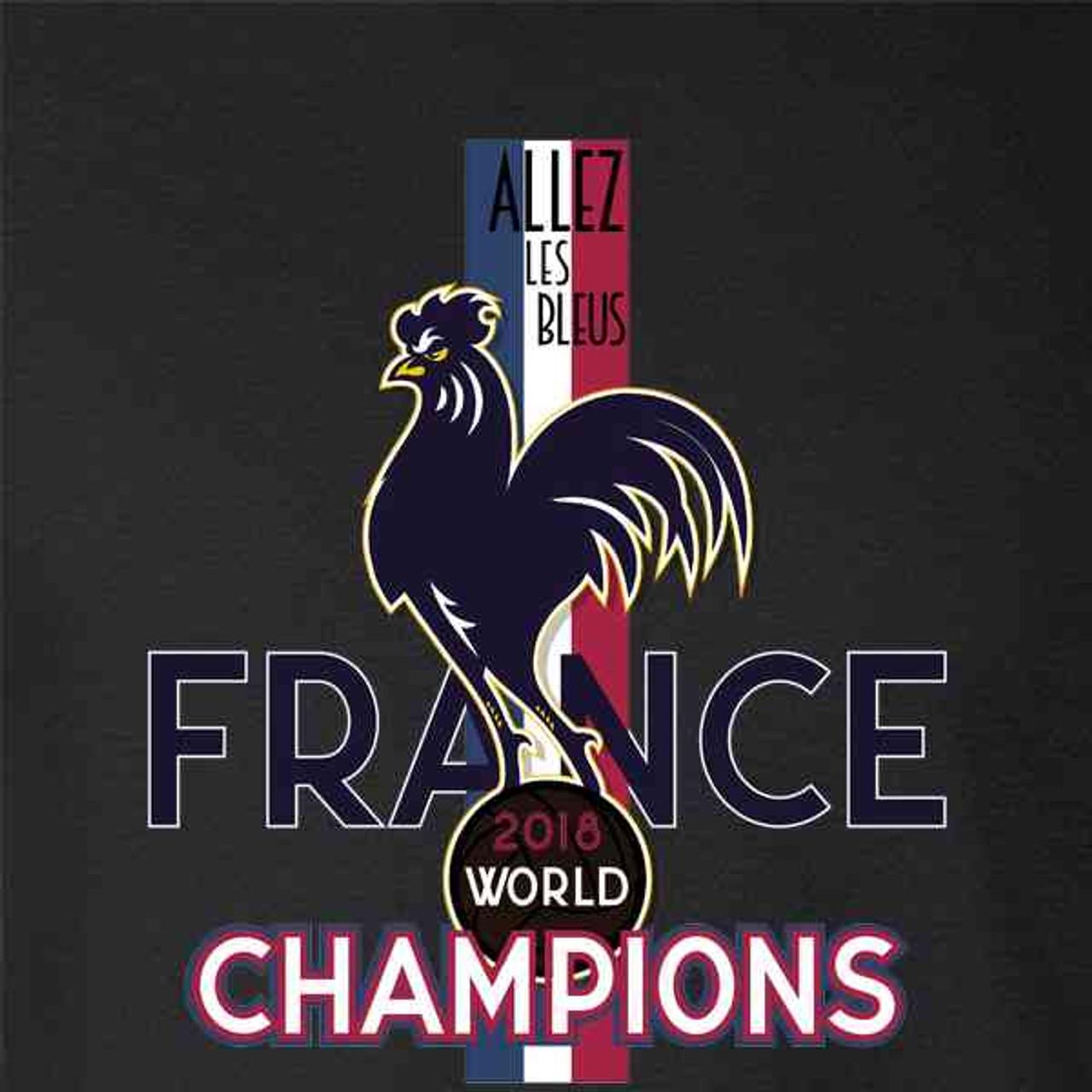 c99e690eb391 France Soccer 2018 World Champions Football - Pop Threads
