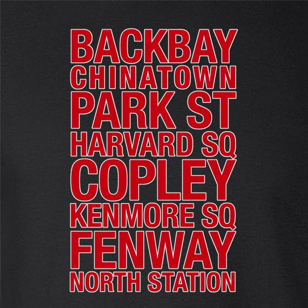 Boston Subway Stations