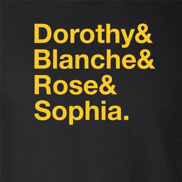 Dorothy & Blanche & Rose & Sophia. Funny Retro