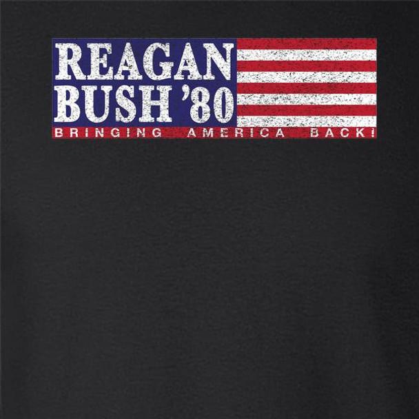 Ronald Reagan George Bush Retro Campaign