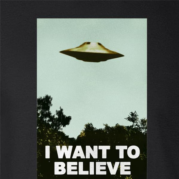 I Want To Believe UFO Aliens Funny Sarcastic
