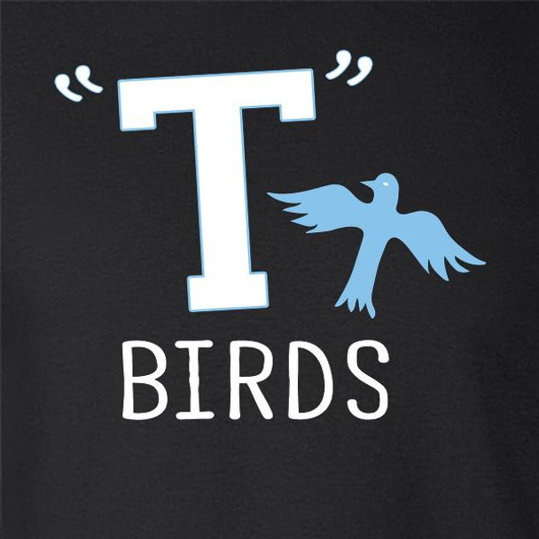T Birds Gang Logo Costume Retro 50s 60s