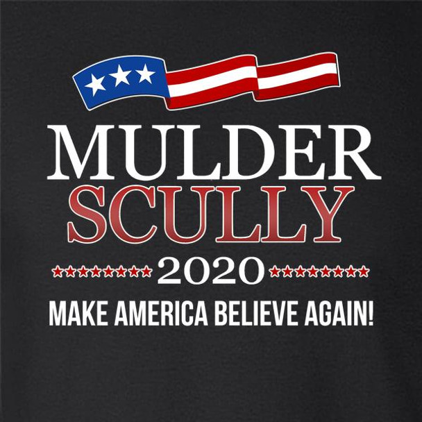 Mulder & Scully 2020 Make America Believe Again