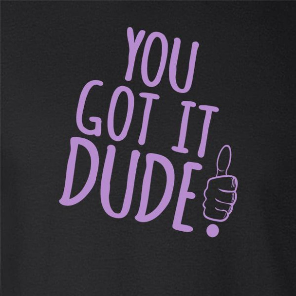 You Got It Dude! Funny 90s Quote Sitcom