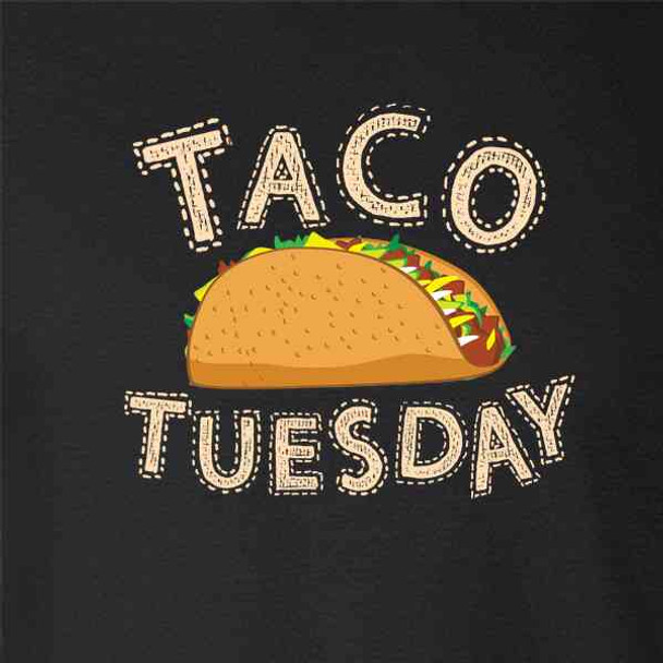 Taco Tuesday Cinco de Mayo Funny Cute Mexican food