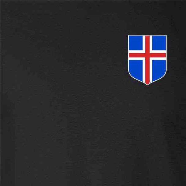 Iceland Soccer Retro National Team Icelandic