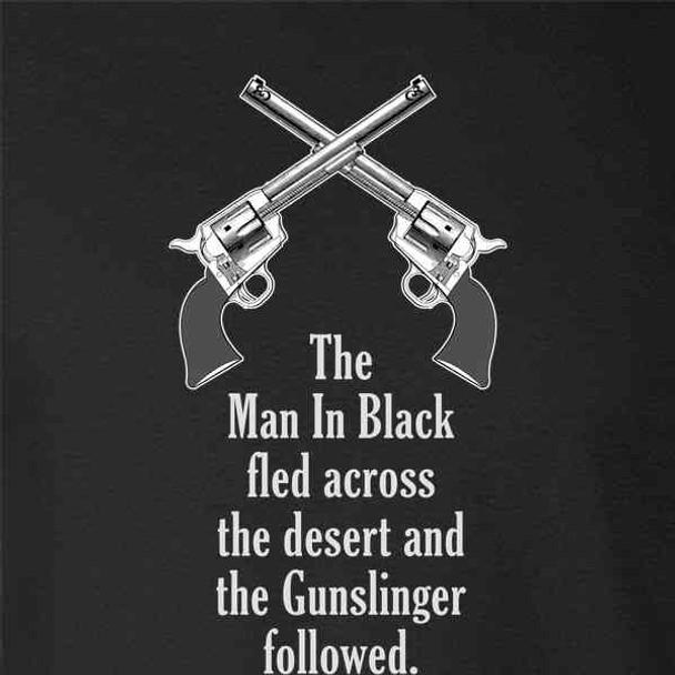 Man In Black Fled Across Desert And the Gunslinger
