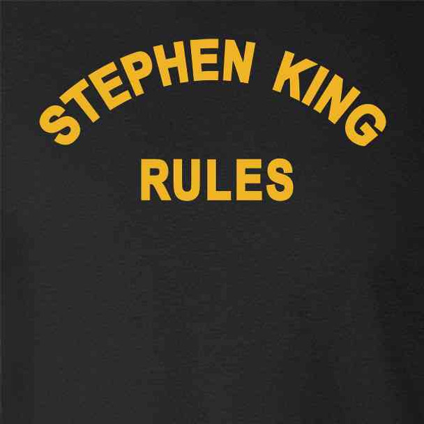 Stephen King Rules Horror Movie Funny  Costume