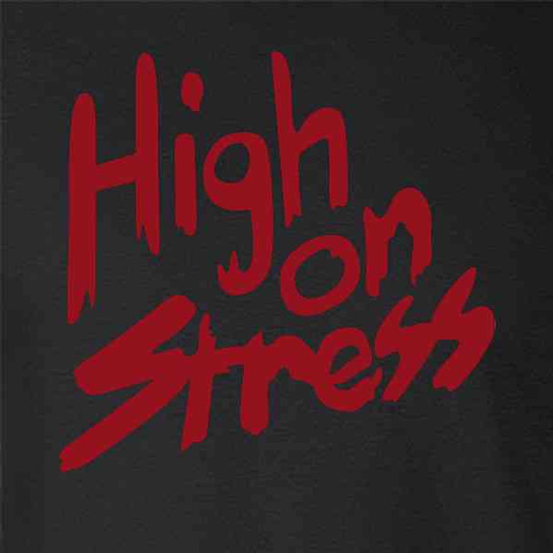 High On Stress Retro 80s Funny Halloween Costume