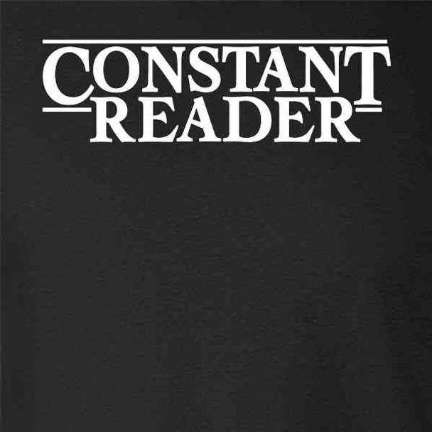 Constant Reader Horror Retro Graphic