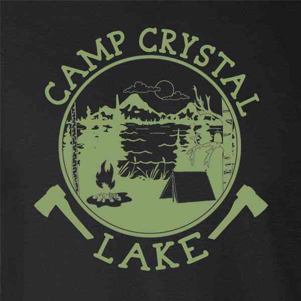 Camp Crystal Lake Counselor Shirt Costume Staff