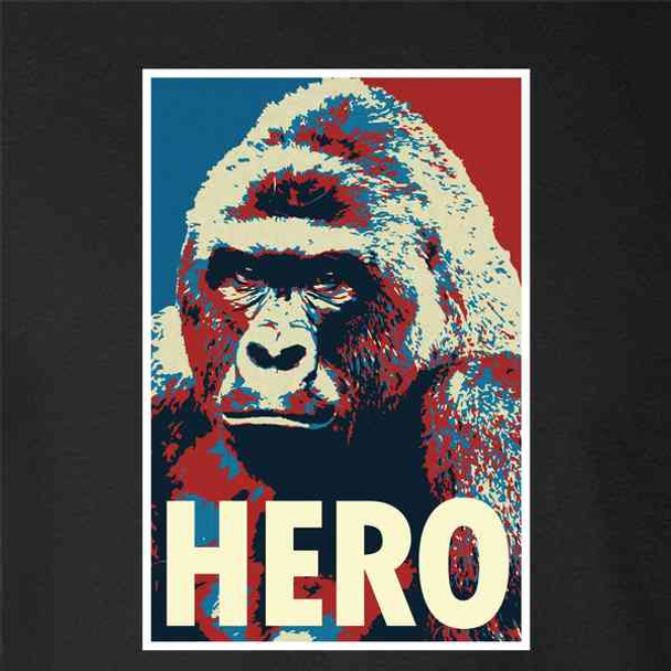 Harambe Pop Art Hero Meme Quote Political Clothing