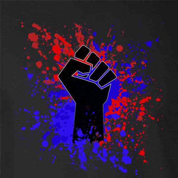 Raised Fist Protest Political USA American BLM