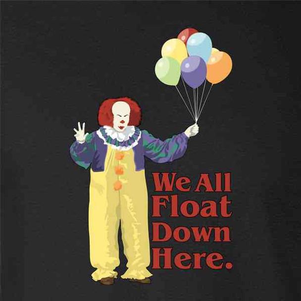 Clown Float Down Here Minimalist