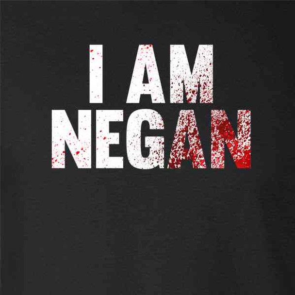 I am Negan Horror Zombie