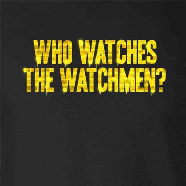 Who Watches The Watchmen? Retro Graffiti