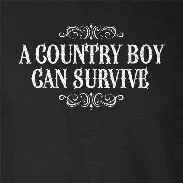A Country Boy Can Survive Quote