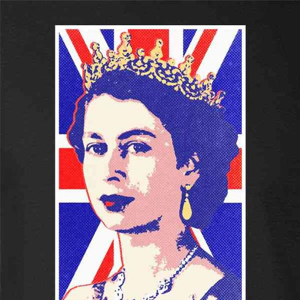 Queen Elizabeth II Union Jack Pop Art