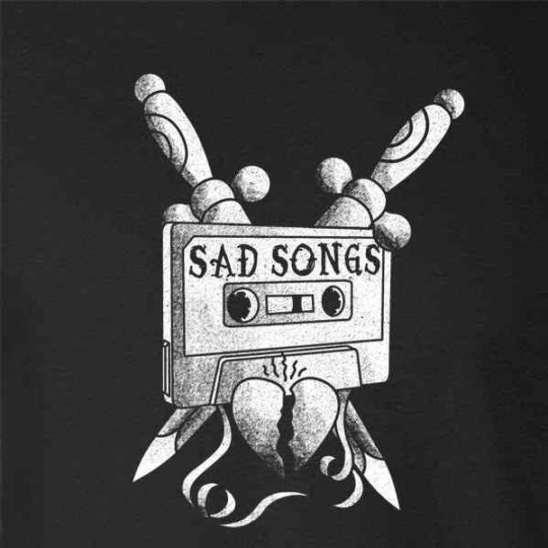 Sad Songs Mixtape Retro Tattoo