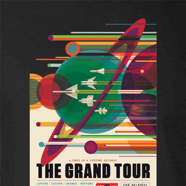 The Grand Tour NASA Space Travel Retro JPL