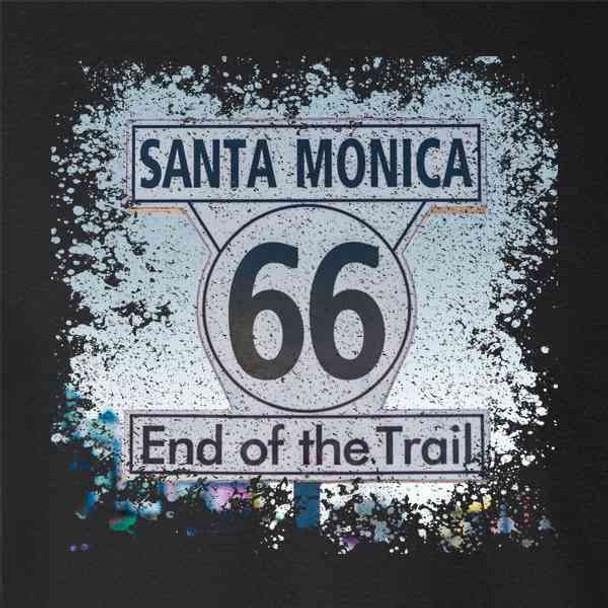 Santa Monica Route 66 End of The Trail