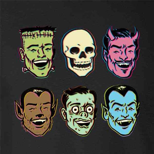 Retro Monster Party Zombie Halloween Costume
