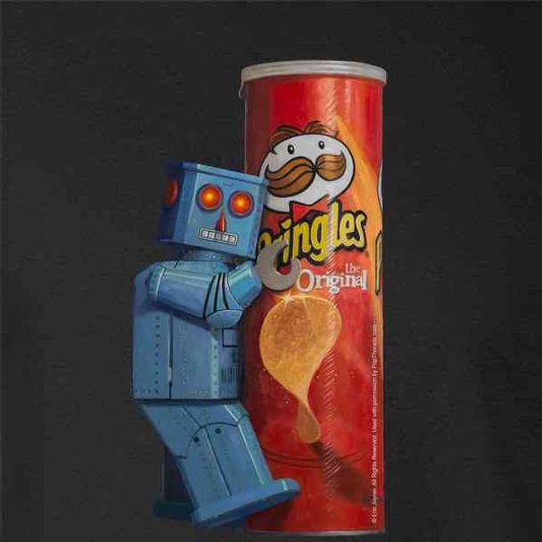 Pringles by Eric Joyner Robot Funny