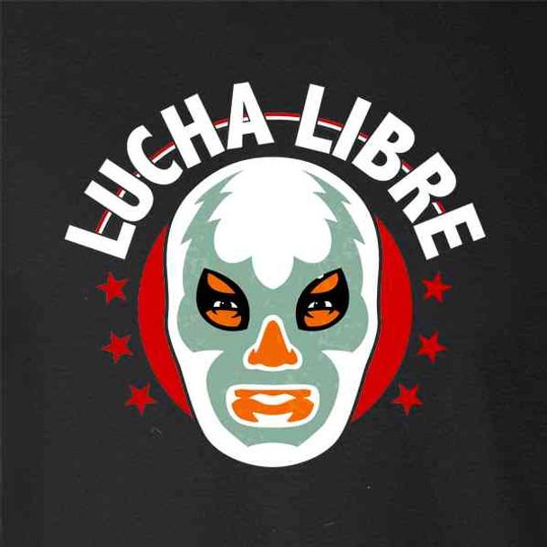 Lucha Libre Retro Mexican Wrestler Wrestling