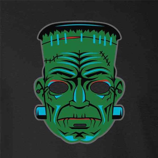 Frankenstein Retro Mask Horror Halloween Vintage