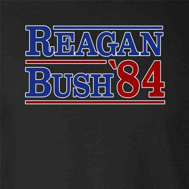 Ronald Reagan George Bush 1984 Campaign